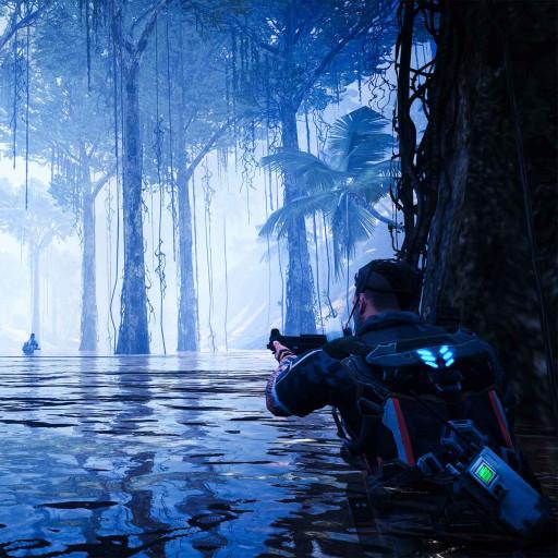 丛林决战!《潜行追踪》电影级画面的真实写照