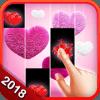 Pink Heart Piano Magic New