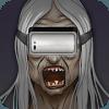 Virtual Reality Grandma VR Horror Fleeing!