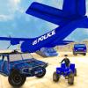 US Police Hummer Jeep Transport: Quad Bike & Plane