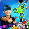 VR Prize Machine 3D Fidget Spinners