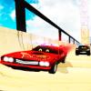 US Police Lightning Car Chase: Mega Ramp Racing