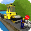 River Side Road Construction - Flip City Builder