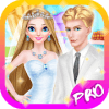 Ice Princess Bridal Wedding Dress Up Salon Makeup