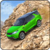 Offroad Hill Climb Rover Driving: Convertible Car