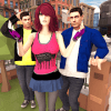 Virtual Girl Crush on Twins: Love Triangle
