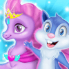 Unicorn & Squirrel Pet Caring - Doctor Game