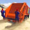 Superheroes Garbage Truck Drive 2018