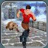 Temple Snow Escape Run