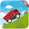 Racing in Hill Truck Monster Challenge Game