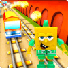 subway lego spongebob game runner