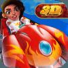 Princess Moa Kart : Racing Transformer Car 3D
