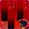 Havana red piano tiles