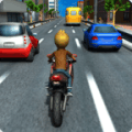 摩托车赛车游戏3D 2018