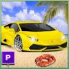 Beach Car Parking Games-Car Driving Simulator 2019