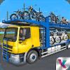 自行车运输卡车司机