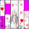anohana piano music games