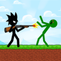 Stickman Zombie Shooter: Fight Platformer