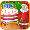 Christmas Sweet Cake Maker-Santa Cake Making Games