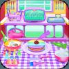 Cooking Games Rainbow Cookies Factory