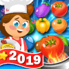 Cooking Sweet  food match 3 puzzle game