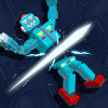Robot Slicer Ninja Craft