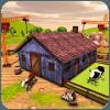Village Cattle House Construction Farm Builder