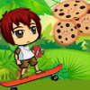 Oreo's Skateboard Adventure