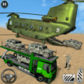 Offroad Army Transporter Sim: Uphill Driving Game