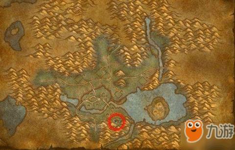 魔兽世界怀旧服西瘟疫矿点图片