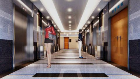 电梯情缘 海报