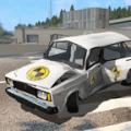 Car Crash Test VAZ 2104