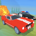 Angry Cops : Car Chase Game