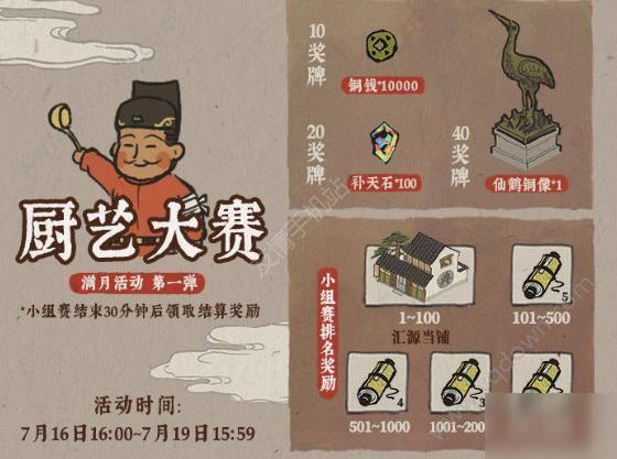 《江南百景图》厨艺大赛怎么玩厨艺大赛活动玩法大全