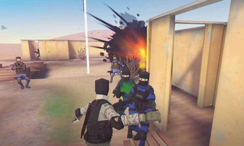 模拟枪战 海报